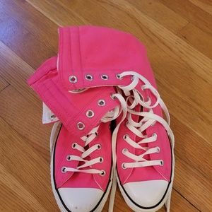 006b4870a10 ... Pink Converse High Tops Shoes